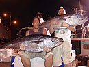 Dave & Martin with Dogtooth Tuna.