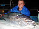 Martin with his Dogtooth Tuna.