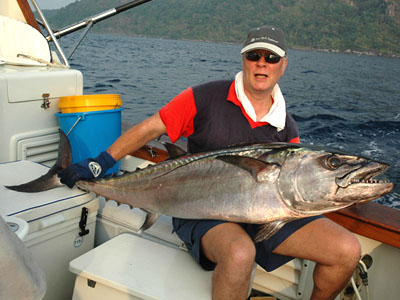 Dogtooth Tuna at the Andaman Islands.